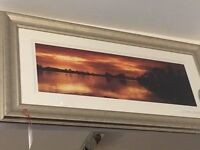 Stunning framed picture of Loch Lomond and the t