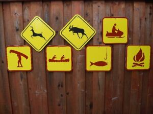 Road Signs, Provincial Park Signs (Real)