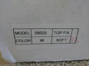 New toilet seat. Naptune model s6020