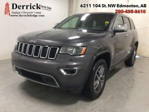 2017 Jeep Grand Cherokee   Used 4WD Limited Sunroof Bluetooth Na