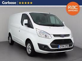 2014 FORD TRANSIT CUSTOM 2.2 TDCi 125ps 330 L1 Low Roof Limited