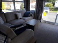 Top of the range static caravan sited on 5* Lancashire park
