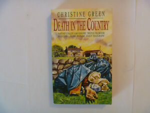 CHRISTINE GREEN - Death In The Country - Paperback