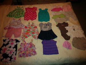 Baby girl clothing -size 3-12 months