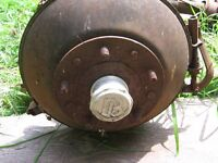 Dodge Brothers axle and drive shaft.