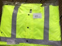 Arco High Viz waterproof jacket