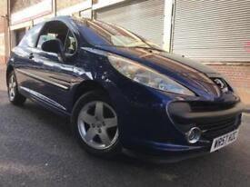 Peugeot 207 57 REG 1.4 16v Sport 3 door 2 OWNERS, LONG MOT, BARGAIN