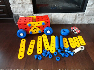 Junior Meccano Play set  50 Pcs.