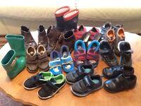 Boys Shoes bundle sizes 6-10. 15 pairs! Bargain!!