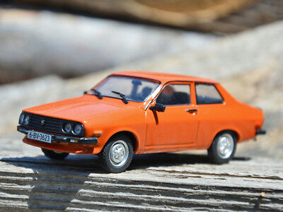 Dacia 1410 Sport Car Red Romanian Coupe 1985 Year 1:43 Scale Diecast Model Toy for sale  Shipping to United States