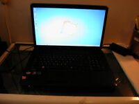 """Used 17"""" Toshiba C670D Laptop with Webcam and Wireless for Sale"""
