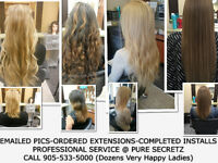HAIR EXTENSIONS *VOTED #1 EXTENSION SALON IN ONTARIO*