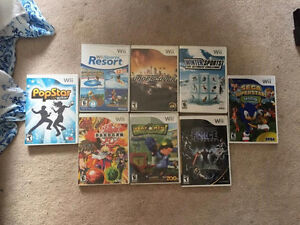 Nintendo Wii with 4 controllers with 8 games Kitchener / Waterloo Kitchener Area image 4