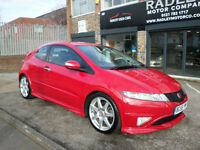 2008 Honda Civic 2.0i-VTEC Type R GT 3DR 58 REG Petrol Red