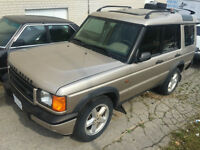 2000 Land Rover Discovery II SUV