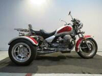 1997 MOTO GUZZI CALIFORNIA 1100 RED SILVER TRICYCLE DELIVERY AVAILABLE