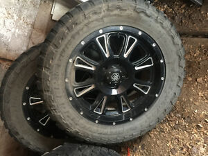 Toto mud tires and rims