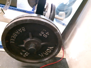 45 lb plates