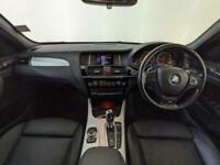 2015 65 BMW X3 XDRIVE20D M-SPORT 4X4 AUTO SAT NAV PARKING SENSORS SVC HISTORY