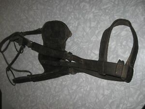 Vintage Equestrian Horse Bridle Tack Leather