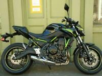 Kawasaki Z650 Twin With ABS, TFT Dash & LED Lighting Available With 0% Finance.