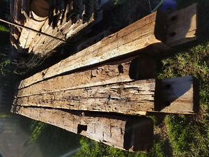 "Barnwood - beams, posts, 2"" barnboard"