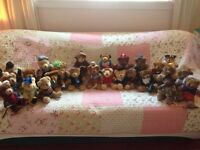 27 Collectable Teddy bears