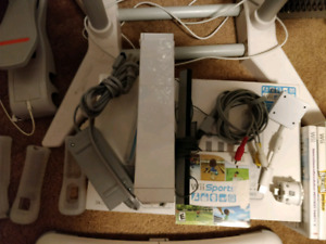 Wii Bundle - console and everything you see here.