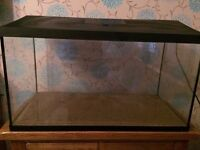 Full set up tropical fish tank with accessories *no fish*