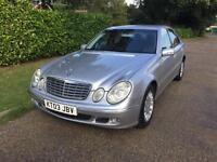 Mercedes-Benz E270 2.7TD auto 2003MY CDI Elegance