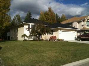 5br family home for rent in Golden BC - phone number updated!!!