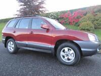 2005 Hyundai Santa Fe 2.0CRTD CDX ** FULL LEATHER **LOW MILES **