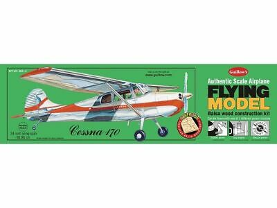Balsa Wood Airplane Kits (Balsa Wood Model Flying Airplane Kit- Guillow's Cessna 170, )