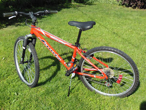 Reconditioned mountain bikes