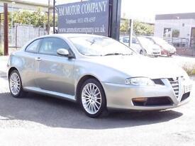 Alfa Romeo GT 1.9JTD 16v, Silver, 2005, 6 Months AA Warranty, Long Mot