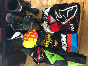 Thor and Fox motocross gear. Selling as a set ONLY.