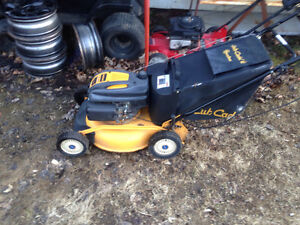 Cub cadet push mower