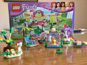 Lego Friends-Heart lake dog show + others