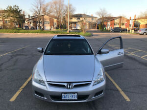 2007 Silver Accord SE-Sunroof, Immaculate, Reduced Price $8250