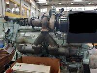 Detroit Diesel / MTU Engine  12V149 D TECH 2.0 - GOOD RUNNING USED
