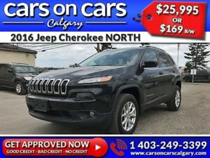 2016 Jeep Cherokee NORTH w/Heated Seats, Terrain Select, PanoRoo
