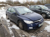 HONDA CIVIC IMA 2008 HYBRID BREAKING FOR SPARES PLEASE CALL BEFORE YOU COME