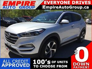 2017 HYUNDAI TUCSON NIGHT * AWD * LEATHER * PAN SUNROOF * REAR C