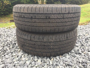Two P195/65R15 Winter Tires