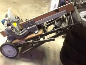 """14"""" Mikita mitre saw and stand Windsor Region Ontario image 8"""