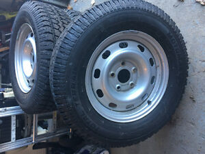 LT245/70R17 on rims