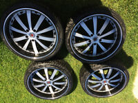 """20"""" BMW 5 i Series Summer tires and rims for sale"""