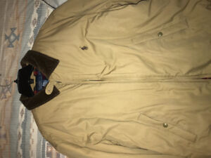 Brand new Khaki Polo Ralph Lauren casual jacket size XL
