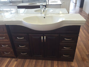 """Clearance 48"""" Euro Style Vanity"""