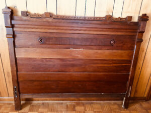 "Price Reduced  - -  Antique 60"" Headboard - Circa 1890"